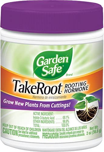Garden Safe Brand TakeRoot Rooting Hormone 2 Ounces, Helps Grow New Plants From Cuttings