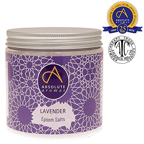 Absolute Aromen Lavendel Epsom Badesalz (575g)