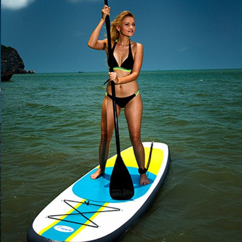 Product Image 11: 10' Inflatable Stand Up Paddle Board / Kayak And SUP! (6 Inches Thick, 32 Inch Wide Stance Width) |11-Piece Accessory Set That Includes Convertible Paddle, Kayak Seat, Travel Backpack, And More!