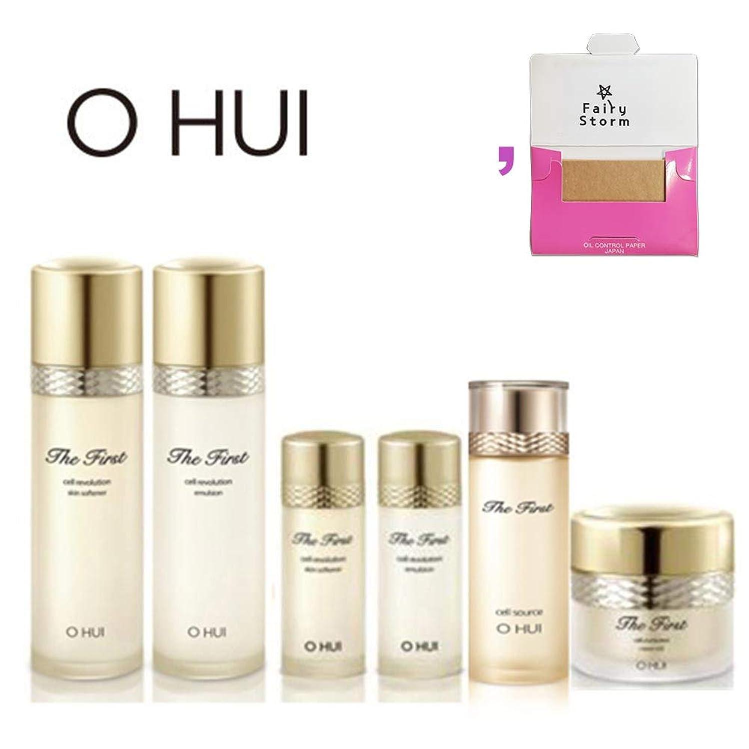 練習承認するタワーオフィス/ O HUI OHUI The First SPECIAL SET/ザファースト2種のスキンケア特別企画セット + Sample Gift (海外直送品)
