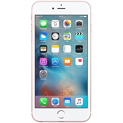 Apple iPhone 6S Plus 16GB Smartphone Rose Gold - Apple Certified Refurbished with 1 year Apple Warrantee