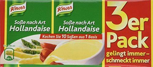 Knorr nach Art Hollandaise Soße, 3 x 250 ml, 15er Pack