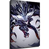 Canvas Prints Canvas For Bedroom Gore Magala Vs Nergigante Monster Hunter World Poster Art Canvas Wall Decor Wall Art 20x28inch