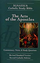 acts of the apostles catholic study guide