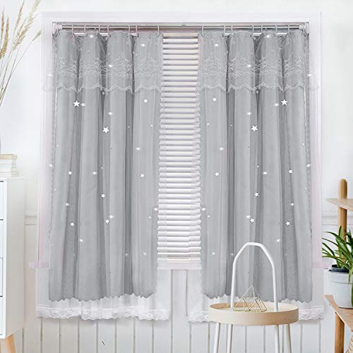 BOLO Tulle Sheer Tulle Curtain Panel,1.2x1.5M