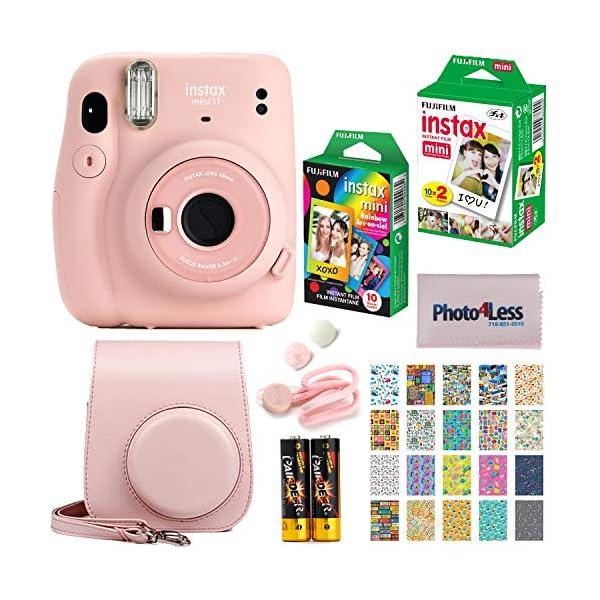 Fujifilm Instax Mini 11 Instant Camera + Fujifilm Instax Mini Twin Pack Instant Film...