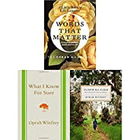 Oprah Winfrey 3 Books Collection Set (The Path Made Clear, What I Know for Sure, Words That Matter) 912382123X Book Cover
