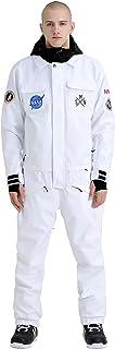 GSOU SNOW Uni-Sex One Piece Ski Suit Snowboard Jacket Winter Waterproof Warm Skiing Outwear
