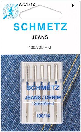 Euro-Notions Roll The Jean y Tela Vaquera Agujas de máquina, Multicolor, 0,5x 6,85x 9.39cm