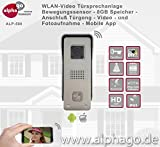 WLAN Video Türsprechanlage ALP500 - 8GB Speicher