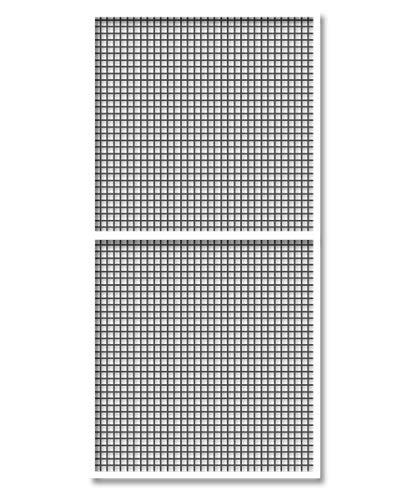 Schellenberg 70044 insectenwerende horren Premium 120 x 240 cm vliegengaas voor ramen, wit