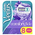 Gillette Venus Comfortglide Breeze 2-in-1 Women's Razor Blades, 8 Pack with Shaving Gel Bars from Procter & Gamble