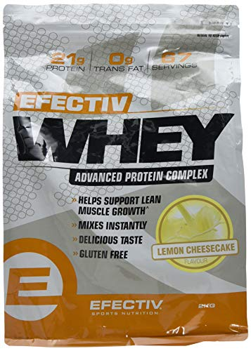 Efectiv Sports Nutrition Efectiv Lemon Cheesecake Whey Shake, 2 KG