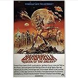 PDFKE Barbarella Jane Fonda Klassiker Sci-Fi Vintage