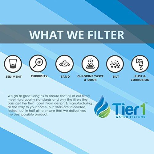 Tier1 Replacement for Jacuzzi 42-2891-08, Pleatco PJ25, Filbur FC-1425, Unicel C-5625 Spa Filter Cartridge for Jacuzzi Spas