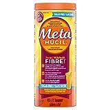 Metamucil Smooth Texture 75% less sugar Orange Psyllium Fiber Powder 72 Doses- Packaging