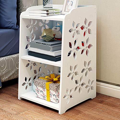 Nachtkastje LKU 3-laags eenvoudig modern nachtkastje meubelen nachtkastje woonkamer nachtkastje, 1