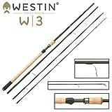 Westin W3 Ultralight Spin M 390cm 7-30g - Angelrute für Forellen, Spinnrute zum Spinnfischen auf Forellen, Barsche & Zander