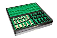 Bellissimo set di scacchi MAGNETICO in legno, gioco di scacchi con figure magnetizzate, gioco classico artigianale ... (medio 28 cm) #8