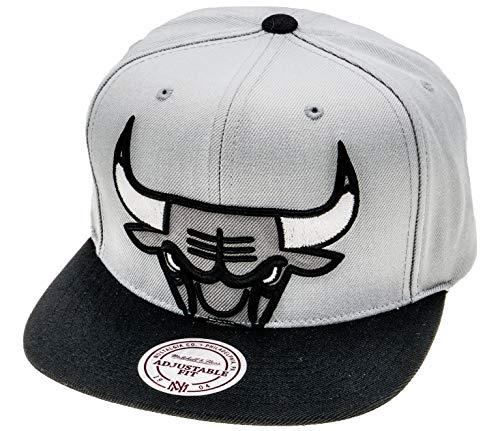 Mitchell & Ness Gorras Chicago Bulls Crop XL Grey/Black Snapback
