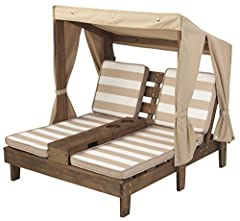 Included Components: Double Chaise Lounger With Cupholder Brand : KidKraft Model : 00534