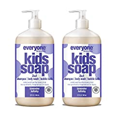 Contains 2 - 32oz Bottles Lavender and Orange essential oils are blended together to make bath time a calming experience. Cleansers are derived from Coconut oil to create rich bubbles for an extra foamy lather. Vitamins B5 and E are added to provide ...