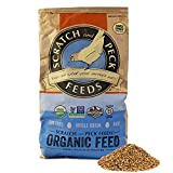Scratch and Peck Feeds Naturally Free Premium Organic 18% Layer Feed for Chickens and Ducks - 40-lbs - Non-GMO Project Verified, Soy Free and Corn Free - 2005-40