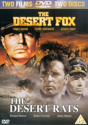 Desert Fox / Desert Rats Duopack DVD [Reino Unido]