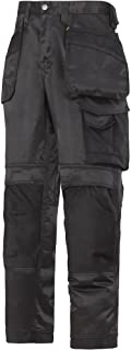 """Snickers 32120404056 Size 56 """"DuraTwill"""" Craftsmen Trousers - Black"""