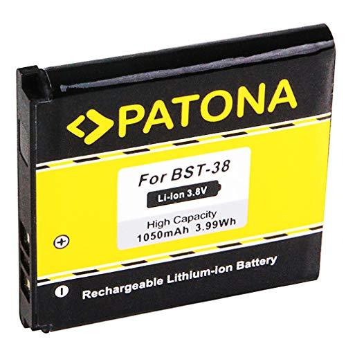 Batería BST-38 para Sony Ericsson C510 | C902 | C905 | Jalou (F100i) | K770i | K850i | R300 | R306 | S312 | S500i | T303 | T650i | W580i | W760i | W902 | W980 | W995 | Xperia X10 mini pro | Yendo W150i | Z770i [ Li-ion 1050mAh / 3.8V ]