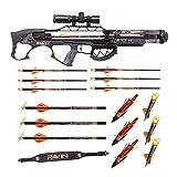 Ravin Crossbows R29X 450 FPS Crossbow (Predator Camo) Huntsman Bundle (5 Items)