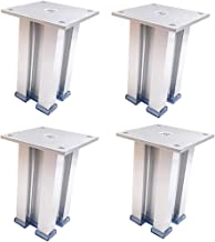 Aluminium meubels benen, kasten, verhoogde benen, bed benen, koffietafel benen, steun benen, TV, bank benen, tafelpoten