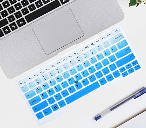 ikammo Tastatur-Abdeckung für Lenovo Thinkpad X1 Carbon 5./6. & ThinkPad X1 Yoga Gen & ThinkPad A475 L460 L470 T460 T460p T460s T470 T470p T470s T480 T480S 14 Zoll Laptop Blau (Ombre Blue)