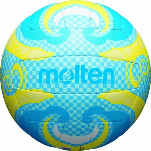 MOLTEN Volleyball - Balón Voleibol Exterior Cuero