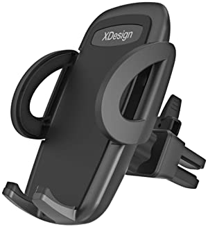 XDesign Air Vent Car Mount Premium Universal Phone Holder Cradle Compatible with iPhone 12 Pro Max 11 Pro iPhone XR S...