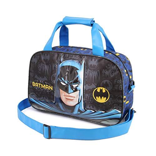 Karactermania Batman Knight-Sports Bag Kinder-Sporttasche, 38 cm, Mehrfarbig (Multicolour)