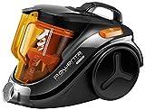 Rowenta RO3753EA Aspirateur Sans Sac Compact Power Cyclonic Parquet 3A 750W Orange [Classe énergétique A] (Reconditionné)