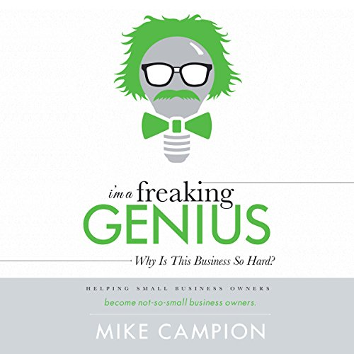 I'm a Freaking GENIUS audiobook cover art