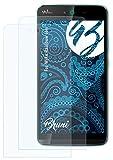 Bruni Schutzfolie kompatibel mit Wiko Rainbow Jam Folie, glasklare Bildschirmschutzfolie (2X)