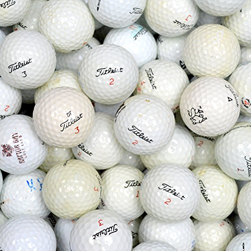 Second Chance Titleist 100 Assorted Model Lake Golf Balls...