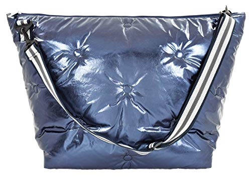 iscream Einkaufstasche mit verstellbarem Riemen, stahlblau (Blau) - 810-1063