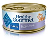Blue Buffalo Adult Flaked Wet Cat Food (24 Pack), Tuna 5.5-oz cans
