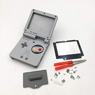 Full Housing Case Cover Housing Shell Replacement for Game boy Advance SP GBA SP Shell Case with Buttons Kit-SFC
