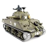 TBFEI 2.4G Remote Control Tank RC Model Henglong Genuine 3898-1 Simulation Real Sound Effect 1:16 US Military...