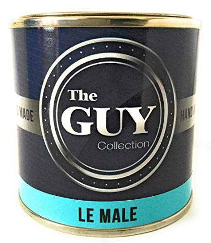 Luxurious Le Male inspired triple scented candle mandle