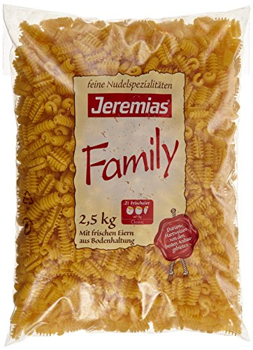 Jeremias Radi, Family Frischei-Nudeln, 1er Pack (1 x 2.5 kg Beutel)