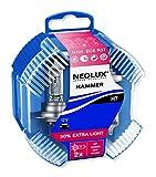 NEOLUX HAMMER BOX Extra Light H7  Halogenscheinwerferlampe N499EL 12V 55W PX26d im 2er-Set