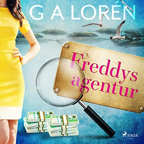 Freddys agentur audiobook cover art