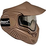 Valken Paintball MI-7 Goggle/Mask with Dual Pane Thermal Lens - Tan