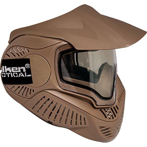 Valken Paintball MI-7 Goggle/Mask with Dual Pane Thermal Lens - Tan